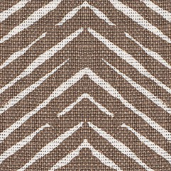 Material 15882 Zig Zag/Earth