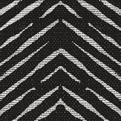 Material 15883 Zig Zag/Black