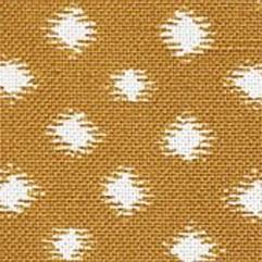 Material 15884 Ikat Dot/Saffron