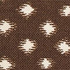 Material 15885 Ikat Dot/Mocha