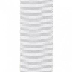 Material 12806 Grosgrain/White