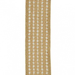 Material 17394 Chenille Stripe/Antique Gold