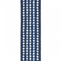 Material 17397 Chenille Stripe/Indigo