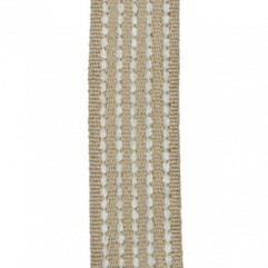Material 17401 Chenille Stripe/Taupe