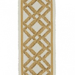 Material 17402 Fretwork/Antique Gold