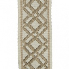Material 17409 Fretwork/Taupe