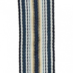 Material 17413 Ribbon Stripe/Indigo