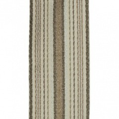 Material 17417 Ribbon Stripe/Taupe
