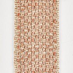 Material 19028 Basketweave/Pink Sand