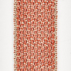 Material 19030 Basketweave/Apricot Brandy