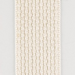 Material 19033 Basketweave/White