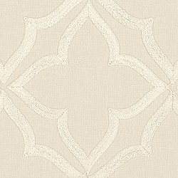 18977 Four Point Embroidery/Soft White