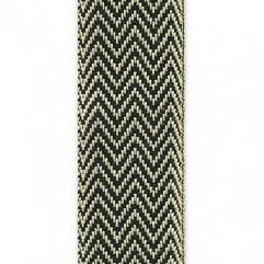Material 4129 Herringbone/Black